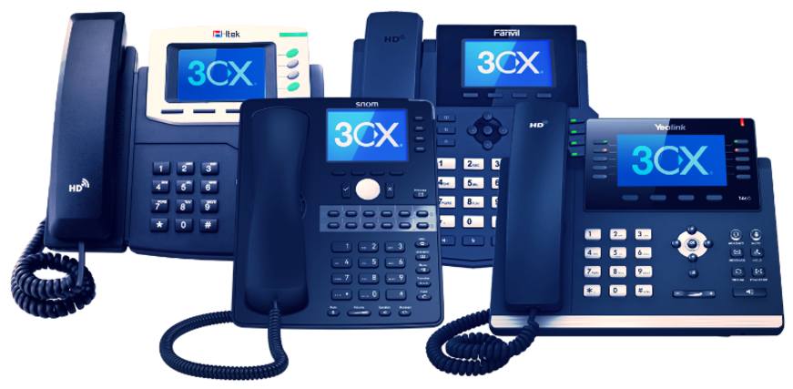 Leading VoIP Providers London - 3cx phones